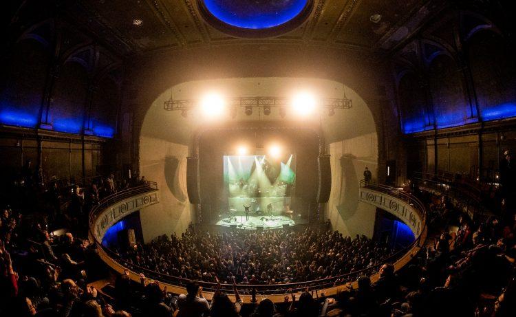 Phantogram at the Palace Theatre | Photo by Darin Kamnetz